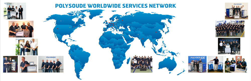 Worldwide Polysoude Services Network