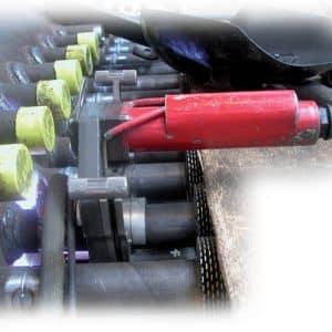 Customised open-type welding head for orbital tube welding