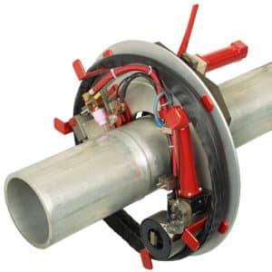 MU IV HW welding head for orbital welding of tubes and pipes