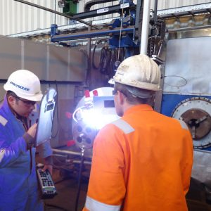 Polysoude Welding Services - on site assistance