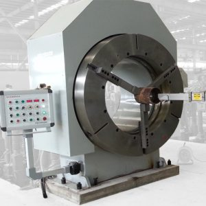 Positioners and turntables for automated welding
