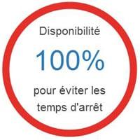 Disponibilité 100% FR