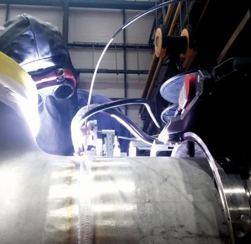 Orbital welding application in the Oil&Gas field