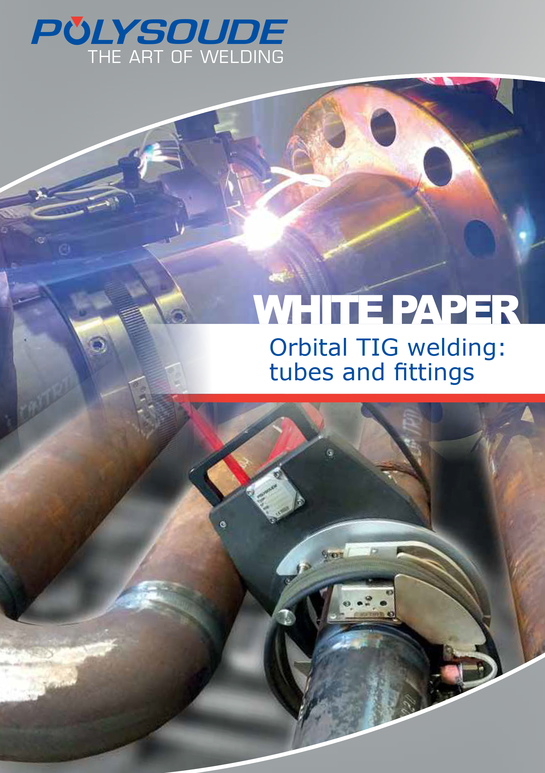 Polysoude white book orbital TIG welding tubes and fittings cover picture