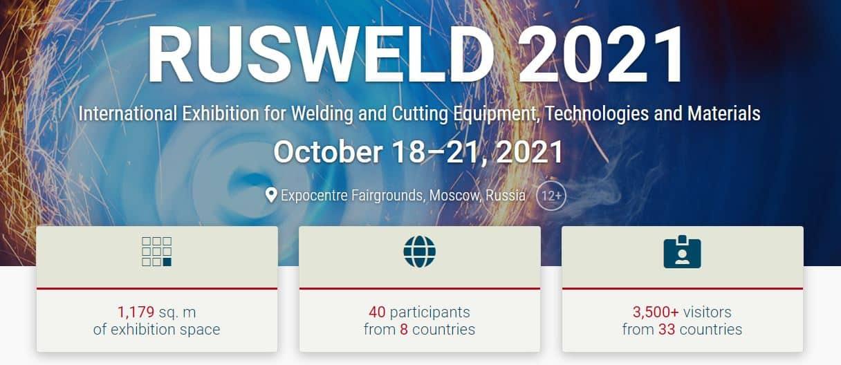 Rusweld welding trade fair 2021